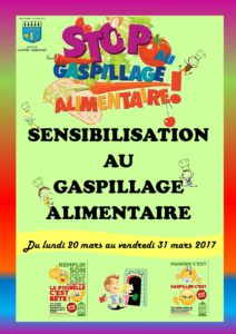 SENSIBILISATION AU GASPILLAGE