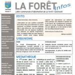 Nouveauté <Strong> Lettre d'information de la commune de la Forêt-Fouesnant Avril 2016</Strong>